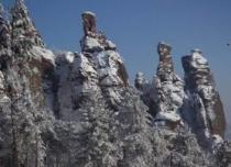 Белоградчишките скали през зима