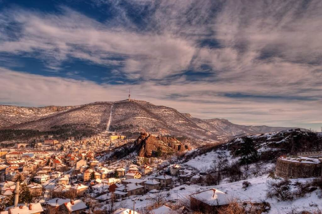 Белоградчик през зимата